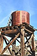 Water Tower at Keys Ranch Joshua Tree National Park