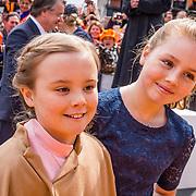NLD/Tilburg/20170427- Koningsdag 2017, Prinses Alexia en Prinses Ariane