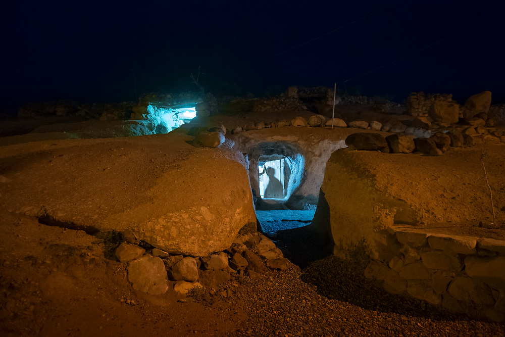 Residents of Meymand village live in hand-dug cave-like houses amid the rocks; some of which have been inhabited for as long as 3000 years. Meymand is a very ancient village which is located near Shahr-e Babak city in Kerman Province. Meymand is believed to be a primary human residence in the Iranian Plateau, dating back to 12,000 years ago.