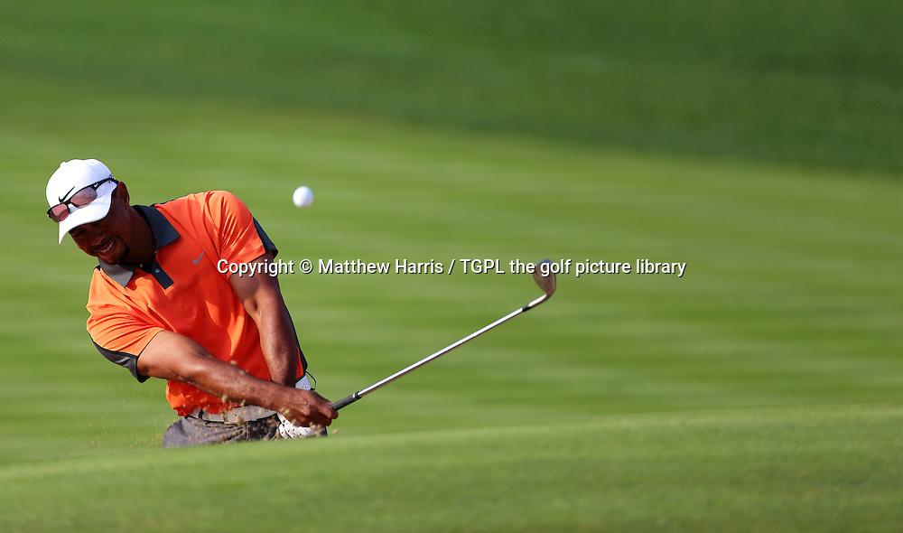 Tiger WOODS (USA) during third round Omega Dubai Desert Classic 2014, Emirates Club,Dubai,UAE.