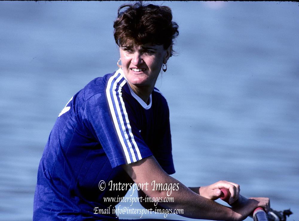Barcelona Olympics 1992 - Lake Banyoles, SPAIN, ROM, W1X Medals Gold, LIPA, Elisabeta,   Photo: Peter Spurrier