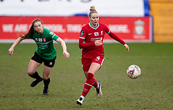 BIRKENHEAD, ENGLAND - Sunday, March 14, 2021: Liverpool's Rhiannon Roberts during the FA Women's Championship game between Liverpool FC Women and Coventry United Ladies FC at Prenton Park. Liverpool won 5-0. (Pic by David Rawcliffe/Propaganda)
