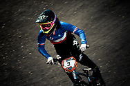 #3 (VALENTINO Manon) FRA at the 2013 UCI BMX Supercross World Cup in Chula Vista