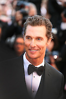 Matthew McConaughey at the Mud gala screening at the 65th Cannes Film Festival France. Saturday 26th May 2012 in Cannes Film Festival, France.