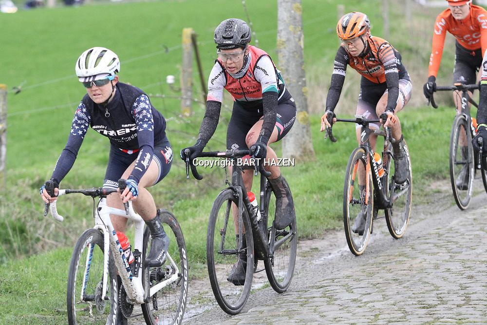 29-02-2020: Wielrennen: Omloop Nieuwsblad: Ninove: Romy Kasper