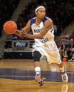 Kansas State guard Blake Young in action in the second half against Cleveland State at Bramlage Coliseum in Manhattan, Kansas, December 5, 2006.  K-State beat the Vikings 93-60.<br />
