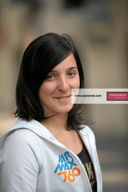 Sophie Rodriguez - freestyle - présentation de l'équipe de France de ski 2007-2008 - Photos exclusives - 9/10/2007 - JSB / PixPlanete