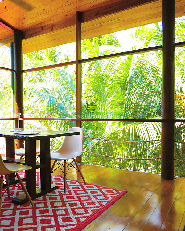 EXCLUSIVE: How about owning your own tropical Caribbean luxury resort for just $10. American couple Suzanne and Dave Smith are selling off their incredible Casa Cayuco Eco Adventure Lodge, in Bocas del Toro, Panama, Central America. But instead of listing their stunning multi-million-pound island getaway for sale they are offering the chance for anyone who buys a $10 ticket to win their extraordinary lifestyle and profitable business. Dave and Suzanne have spent five years turning a former rustic lodge into one that has just been voted number one resort on TripAdvisor in Panama. Their incredible two-acre slice of heaven is bordered by sloth-filled rainforest to the rear and crystal clear coral sea to the front. The lucky winner of the 24-guest resort will become owner of four stand-alone cabins, a main lodge, two lodge suites, and an air-conditioned luxury owner's suite designed by Dave and Suzanne themselves and built by skilled local carpenters. Outside, Casa Cayuco comes with its own jetty and thatch covered sun terrace as well as everything you need to run a business, including commercial kitchen communication tower, laundry and maintenance building and THREE power boats, each over 23-foot long. Kayaks, snorkelling, spear fishing and paddle boards and surf gear are also ready and waiting to be used by a new owner and guests alike. And if that's not enough, British competition organisers WinThis.Life https://winthis.life/index.aspx# are offering a $50,000 cash injection to welcome the new owners. All those wishing to take part have to do is buy one or more tickets and play a spot-the-ball-type competition on the website. Entries are being taken extension until April 11. Dave, 35, and Suzanne, 33, first arrived on the island in 2013 with just seven suitcases having decided to sell up from their home and corporate lives near Detroit, Michigan, USA. 16 Feb 2018 Pictured: Pic shows accomodation at Caribbean resort Casa Cayuco in Panama which one lucky winner coul