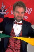 Blind magician age 33 performing breathtaking tricks.  St Paul  Minnesota USA