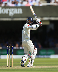 England's Moeen Ali during day two of the First Investec Test match at Lord's, London. PRESS ASSOCIATION Photo. Picture date: Friday July 7, 2017. See PA story CRICKET England. Photo credit should read: Nigel French/PA Wire. RESTRICTIONS: Editorial use only. No commercial use without prior written consent of the ECB. Still image use only. No moving images to emulate broadcast. No removing or obscuring of sponsor logos.