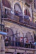 Balconies of old Havana, Cuba