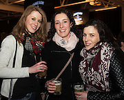 Eimear O'Connell and Mary Glynn and Siobhan O'Brien from Galway City at The Jameson The Black Barrel Craft Series  at Old printing works, Market Street with music by Corner boy.  Photo:Andrew Downes