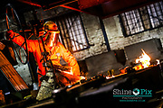 Picture by Shaun Fellows / Shine Pix             Apprentiship case study for Dudley College pictured behind the scenes  at Thomas Dudley Ltd Foundry in Dudley