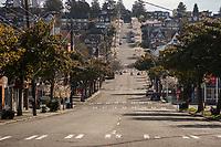 McGraw Street, Magnolia Village (April 4, 2020).