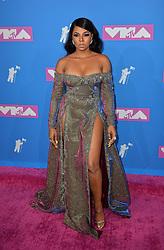 August 20, 2018 - New York, New York, United States - Ashanti arriving at the 2018 MTV Video Music Awards at Radio City Music Hall on August 20, 2018 in New York City  (Credit Image: © Kristin Callahan/Ace Pictures via ZUMA Press)