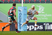 Wasps Center Malakai Fekitoa during a Gallagher Premiership Round 10 Rugby Union match, Friday, Feb. 20, 2021, in Leicester, United Kingdom. (Steve Flynn/Image of Sport)