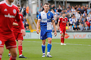Bristol Rovers midfielder Ollie Clarke during the EFL Sky Bet League 1 match between Bristol Rovers and Accrington Stanley at the Memorial Stadium, Bristol, England on 7 September 2019.