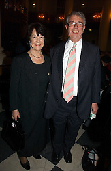 TOBY & EIRA JESSEL at the annual House of Lords and House of Commons Parliamentary Palace of Varieties in aid of Macmillan Cancer Support held at St.John's Smith Square, London W1 on 1st February 2007.<br /><br />NON EXCLUSIVE - WORLD RIGHTS