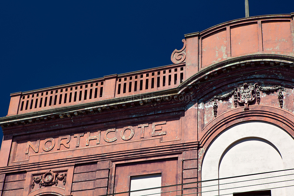 Northcote Theatre, Melbourne, Victoria, Australia. Built in 1912, on the corner of High Street and Bastings Street by Robert McLeish.
