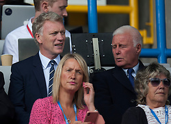 Manager David Moyes watches from the stands - Mandatory by-line: Jack Phillips/JMP - 25/08/2018 - FOOTBALL - The John Smith's Stadium - Huddersfield, England - Huddersfield Town v Cardiff City - English Premier League
