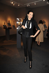 Private View of the Pavilion of Art & Design London 2010 held in Berkeley Square, London on 11th October 2010.<br /> Picture Shows:- L'WREN SCOTT