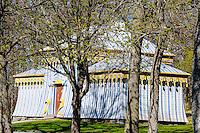 Sweden, Ekerö. The Drottningholm Palace (Drottningholms slott). Vakttältet.