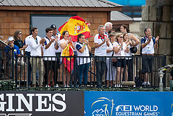 Supporters for, Diaz Fernandez Carlos, ESP, Junco CP<br /> World Equestrian Games - Tryon 2018<br /> © Hippo Foto - Dirk Caremans<br /> 13/09/2018