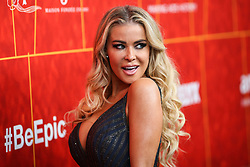 BEVERLY HILLS, LOS ANGELES, CA, USA - OCTOBER 18: amfAR Gala Los Angeles 2018 held at the Wallis Annenberg Center for the Performing Arts on October 18, 2018 in Beverly Hills, Los Angeles, California, United States. 18 Oct 2018 Pictured: Carmen Electra. Photo credit: Xavier Collin/Image Press Agency/MEGA TheMegaAgency.com +1 888 505 6342