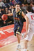 DESCRIZIONE : Reggio Emilia Coppa Italia Lega Basket A2 2011-12  Trenkwalder Reggio Emilia  Givova Scafati<br /> GIOCATORE : Levin Mats<br /> SQUADRA :  Givova Scafati<br /> EVENTO : Coppa Italia Lega Basket A2 2011-2012<br /> GARA : Trenkwalder Reggio Emilia  Givova Scafati<br /> DATA : 01/11/2011 <br /> CATEGORIA : palleggio<br /> SPORT : Pallacanestro <br /> AUTORE : Agenzia Ciamillo-Castoria/FotoStudio13<br /> Galleria : Lega Basket A2 2011-2012 <br /> Fotonotizia : Reggio Emilia Coppa Italia Lega Basket A2 2011-12  Trenkwalder Reggio Emilia  Givova Scafati<br /> Predefinita :