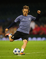 Luka Modric of Real Madrid<br /> <br /> Photographer Kevin Barnes/CameraSport<br /> <br /> UEFA Champions League Final - Training session - Juventus v Real Madrid - Friday 2nd June 2017 - Principality Stadium - Cardiff<br />  <br /> World Copyright © 2017 CameraSport. All rights reserved. 43 Linden Ave. Countesthorpe. Leicester. England. LE8 5PG - Tel: +44 (0) 116 277 4147 - admin@camerasport.com - www.camerasport.com