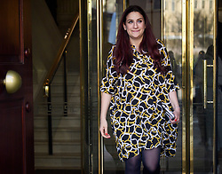 © Licensed to London News Pictures. 21/02/2019. London, UK. The INDependent Group MP, LUCIANA BERGER is seen in Westminster, London. Conservative and Labour MPs have resigned form their respective parties . and joined newly formed The Independent Group, a breakaway campaign group formed by seven defecting Labour MPs. Photo credit: Ben Cawthra/LNP