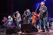 COLUMBIA, MD - May 14, 2015 - Trampled By Turtles perform during the Dear Jerry: Celebrating the Music of Jerry Garcia concert at Merriweather Post Pavilion in Columbia, MD. (Photo by Kyle Gustafson / For The Washington Post)