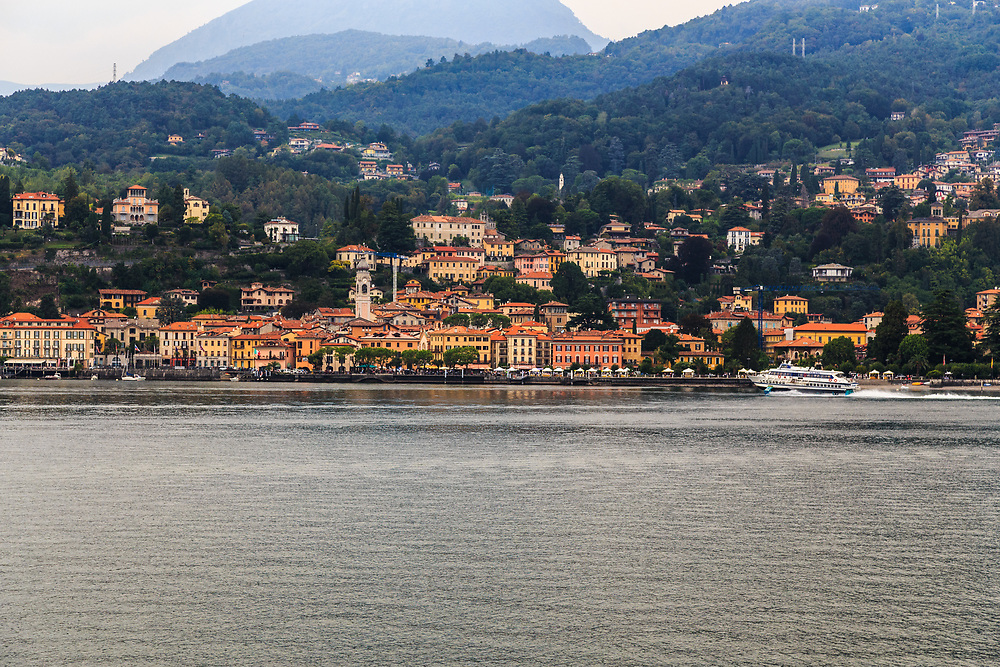 Menaggio is an old  village on Lake Como, Italy.