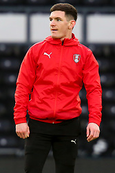 Trevor Clarke of Rotherham United - Mandatory by-line: Ryan Crockett/JMP - 16/01/2021 - FOOTBALL - Pride Park Stadium - Derby, England - Derby County v Rotherham United - Sky Bet Championship