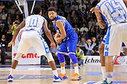 DESCRIZIONE : Beko Legabasket Serie A 2015- 2016 Dinamo Banco di Sardegna Sassari - Enel Brindisi<br /> GIOCATORE : Scottie Reynolds<br /> CATEGORIA : Palleggio Composizione<br /> SQUADRA : Enel Brindisi<br /> EVENTO : Beko Legabasket Serie A 2015-2016<br /> GARA : Dinamo Banco di Sardegna Sassari - Enel Brindisi<br /> DATA : 18/10/2015<br /> SPORT : Pallacanestro <br /> AUTORE : Agenzia Ciamillo-Castoria/C.Atzori