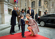 State Visit of King Willem-Alexander to France accompanied by Queen Maxima, 11-03-2016