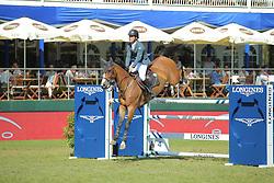 Alvarez Moya Sergio, (ESP), Arrayan<br /> Longines Global Champions Tour - Grand Prix of Hamburg<br /> Hamburg - Hamburger Derby 2016<br /> © Hippo Foto - Stefan Lafrentz