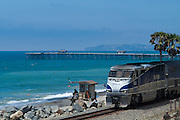 Amtarak Train In San Clemente