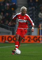 Photo: Andrew Unwin.<br />Hull City v Middlesbrough. The FA Cup. 06/01/2007.<br />Middlesbrough's Abel Xavier.