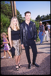 July 9, 1997;  Hollywood, CA, USA;  Actor BRENDAN FRASER and wife AFTON SMITH attend the premiere of ''George of the Jungle'' held at the San Diego Wild Animal Park in Escondido, CA.  Michelson - Brunozzi/1997)  (Credit Image: © Michelson/ZUMAPRESS.com)