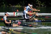 Lucerne, SWITZERLAND,GBR LM1X Alasdair LEIGHTON-CRAWFORD. 2007 FISA World Cup, Lucerne, on the Rotsee Lake, 13/07/2007  [Mandatory Credit Peter Spurrier/ Intersport Images] , Rowing Course, Lake Rottsee, Lucerne, SWITZERLAND.
