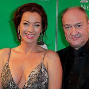 NLD/Scheveningen/20111106 - Premiere musical Wicked, Marjolein Keuning en partner Henk Poort