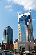 Downtown Nashville, TN. USA  AT&T Building