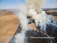 63863-02916 Prescribed Burn by IDNR Prairie Ridge State Natural Area Marion Co. IL