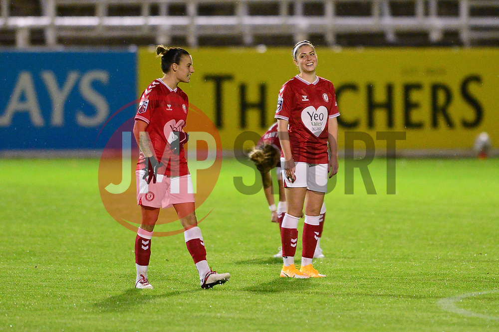 Bristol City Women - Mandatory by-line: Dougie Allward/JMP - 07/10/2020 - FOOTBALL - Twerton Park - Bath, England - Bristol City Women v London Bees - FA Continental Cup