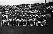 17/08/1969<br /> 08/17/1969<br /> 17 August 1969<br /> All-Ireland Senior Semi-Final: Kilkenny v London at Croke Park, Dublin.<br /> The London team.