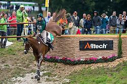 Aoife Clark, (IRL), Fenyas Elegance - Eventing Cross Country test - Alltech FEI World Equestrian Games™ 2014 - Normandy, France.<br /> © Hippo Foto Team - Leanjo de Koster<br /> 30/08/14