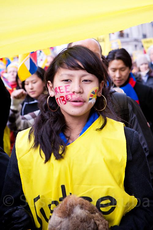 Free Tibet Protest, London, UK
