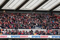 Bristol City fans - Rogan Thomson/JMP - 25/02/2017 - FOOTBALL - St James' Park - Newcastle, England - Newcastle United v Bristol City - Sky Bet EFL Championship.