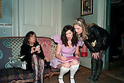 GIA MILLS; XANTHE MILTON; SOPHIE HARLEY, Xanthie Milton / Cookie Girl Book Launch 'Eat Me'<br />